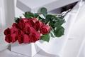 Картинка цветы, розы, подарок
