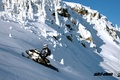 Картинка summit, snow, снег, горы, snowmobile, ski-doo, brp, skidoo, спорт, снегоход, sport, лес