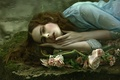 Картинка Portrait of sadness, девушка, арт, фантазия, Agnieszka Lorek, Anna Gigante