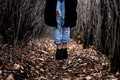 Картинка girl, Canada, legs, woman, autumn, bokeh, jeans, shoes, female, Edmonton, stop motion