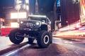 Картинка внедорожник, Supercharged, Automotive Photography, улица, ночь, car, Jeep Wrangler, тюнинг, Andrew Link