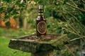 Картинка боке, постамент, бутылка, Scotland, поэт, Robert Burns, celebrate