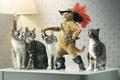 Картинка кошки, шляпа, шпага, кот в сапогах