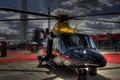 Картинка AW139, AgustaWestland, облака, вертолет