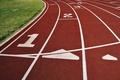 Картинка Спорт, беговая дорожка, забег, бег, линии, места, трава
