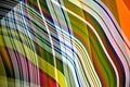 Картинка цвет, узор, линии, лучи, текстура