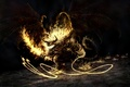 Картинка Balrog, балрог, демон, огонь, властелин колец