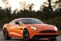 Картинка Vanquish, суперкар, астон мартин, orange, Aston Martin