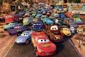 Картинка route 66, машинки, радиатор спрингс, Cars, мультик, Тачки, мультфильм
