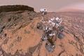 Картинка Марс, марсоход, Curiosity, Кьюриосити