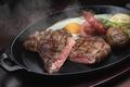Картинка мясо, яйцо, сковорода, овощи