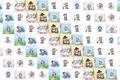 Картинка настроение, текстура, арт, Алексей Долотов, разное, котики, детская