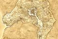 Картинка Oblivion, карта, коричневый