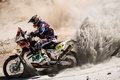 Картинка Мотоцикл, Гонщик, Песок, Спорт, Dakar, Red Bull, Два колеса