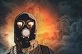 Картинка pollution, gas mask, survivor