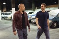 Картинка гараж, парковка, Paul Walker, Vin Diesel, машины, Fast & Furious, Dominic Toretto, Пол Уокер, Brian ...