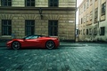Картинка supercar, улица, феррари, ferrari 458 Italia, город