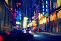 Картинка winter, Mafia 2, Мафия 2, Mafia II, cars, concept art, город, city, Игра, автомобиль, Game, ...