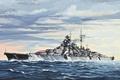 Картинка трое, арт, германский, тяжелые, после, 1941г., Отто фон Бисмарка, Бисмарком, назван, похода, Hood, проливе, Бисмарк, ...