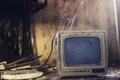 Картинка фон, паутина, телевизор