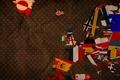 Картинка европа, флаги, креатив, изображение, арт, фон, картинка, обои, страны, текстура