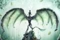 Картинка дракон, арт, desktopography, рендер, hq wallpaper, красивые картинки, the guardian awakens