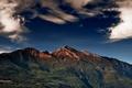 Картинка небо, горы, пейзаж