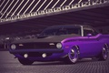Картинка Purple, Gran Turismo 6, 340, 1970, Plymouth, Cuda, AAR, Barrel, Six