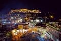 Картинка Греция, ночь, Greece, night, Афины, Athens