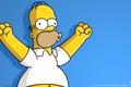 Картинка Homer Simpson, Гомер Симпсон, Ухууууууу, Симпсоны, The Simpsons