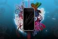 Картинка Apple, Colors, Smartphone, Смартфон, IOS 7, iPhone 5C, IPHONE BEAUTIFUL CREATIONS