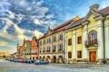 Картинка дома, HDR, Чехия, Тельч