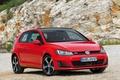 Картинка красная, передок, машина, 3-door, Golf, Volkswagen, GTI