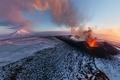 Картинка вулкан, извержение, Камчатка, Плоский Толбачик