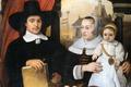 Картинка портрет, картина, семья, Фабрициус Барент, Портрет Семейства Архитектора Ван Дер Гельма