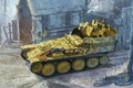 Картинка Немецкая, арт, солдаты, Flakpazner 38(t), зенитная самоходная установка, ЗСУ