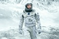 Картинка spacesuit, snow, Interstellar, movie, American flag, flag, Cooper, ice, film, cinema, man, 2014, Matthew Mcconaughey, ...