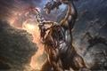 Картинка Циклоп, бой, god of war , герой, ярость, монстры