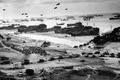 Картинка Высадка в нормандии, вторая мировая, война, черно-белая