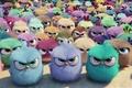 Картинка snow, design, yuki, group, puppies, young, Angry Birds, film, cinema, deredere, subarashii, animation, moe, game, ...