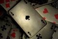 Картинка карты, покер, серый