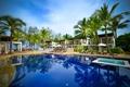 Картинка пальмы, тропики, курорт, бассейн