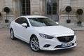 Картинка белый, Mazda, white, красивая, седан