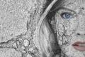 Картинка девушка, текстура, фон