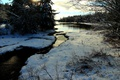 Картинка Зима, Река, Снег, Winter, Frost, Snow, River