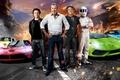 Картинка Jeremy Clarkson, Top Gear, Stig, Supercars, Richard Hammond, James May, Ferrari LaFerrari, BMW i8, Lamborghini ...