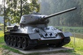 Картинка памятник, средний, танк, T-34-85