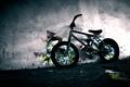 Картинка Bmx, велосипед, стена, граффити