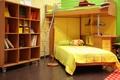Картинка комната, детская, интерьер, кровать, фото