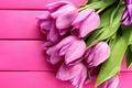 Картинка цветы, розовые, лепестки, Тюльпаны, розовый